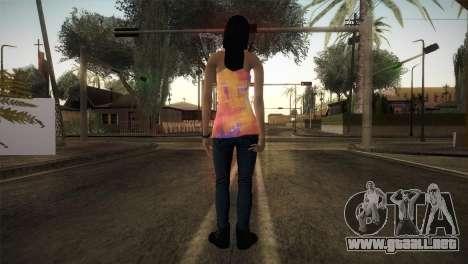 Alara Model Girl para GTA San Andreas tercera pantalla