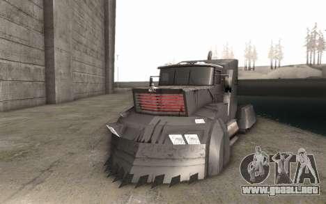 El Mad Max Camión para GTA San Andreas