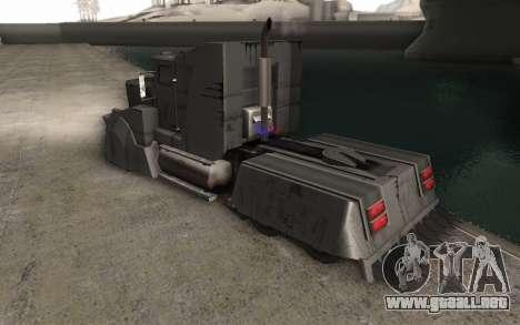 El Mad Max Camión para GTA San Andreas left