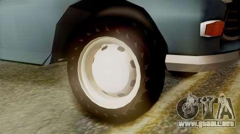 Peugeot 404 para GTA San Andreas vista posterior izquierda