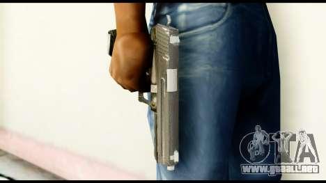 Pistol from Crysis 2 para GTA San Andreas tercera pantalla