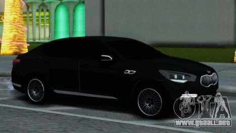 Kia Quoris para GTA San Andreas vista posterior izquierda