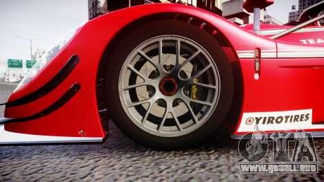 Radical SR8 RX 2011 [6] para GTA 4 vista hacia atrás