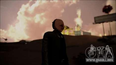 ENBTI for High PC para GTA San Andreas quinta pantalla
