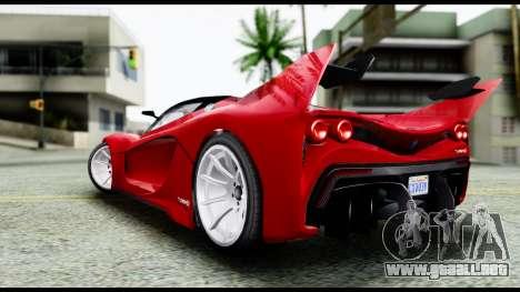 Grotti Turismo RXX-K v2.0 para GTA San Andreas left