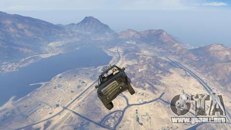 GTA 5 Sticky Underwater Cars quinta captura de pantalla