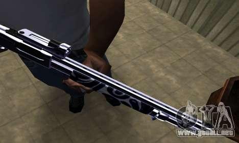 Oval Shotgun para GTA San Andreas