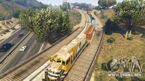 GTA 5 Railroad Engineer 3 sexta captura de pantalla