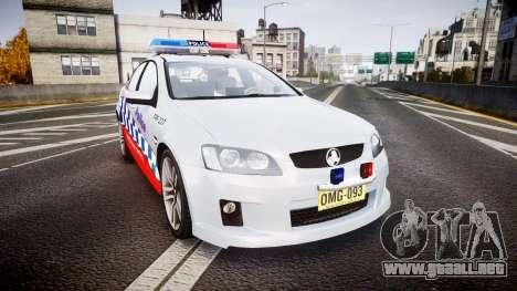 Holden Commodore SS Highway Patrol [ELS] para GTA 4