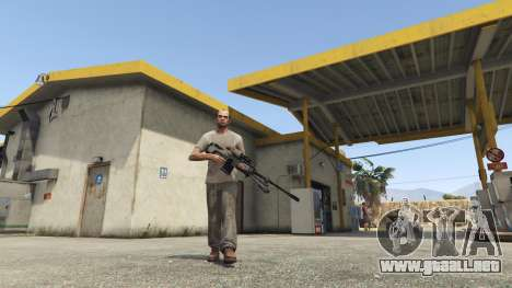 GTA 5 Halo UNSC: Sniper Rifle tercera captura de pantalla