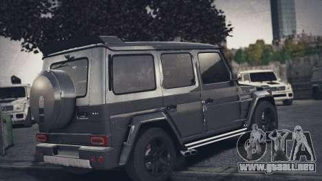 Mercedes-Benz G65 W463 para GTA 4 left