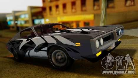 Dodge Charger Super Bee 426 Hemi (WS23) 1971 IVF para GTA San Andreas interior