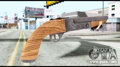 Shotgun from Resident Evil 6 para GTA San Andreas segunda pantalla