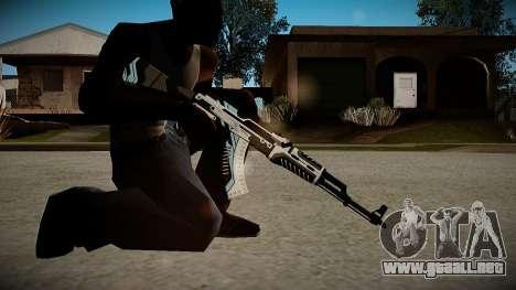 AK-47 Vulcan para GTA San Andreas tercera pantalla