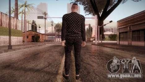 Skin1 from DLC Gotten Gaings para GTA San Andreas tercera pantalla