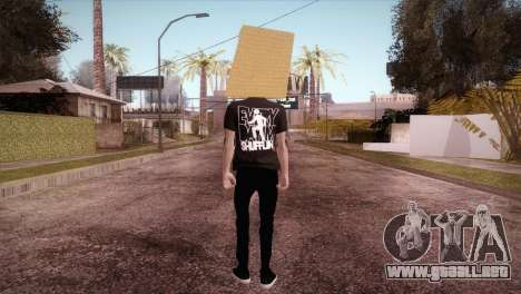LMFAO Robot para GTA San Andreas tercera pantalla