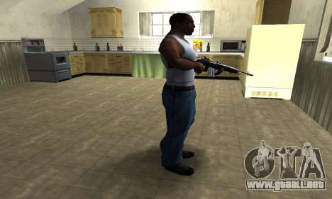 Full Black Rifle para GTA San Andreas tercera pantalla