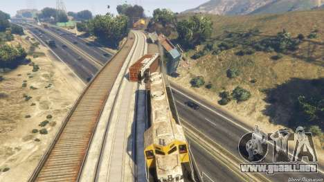 GTA 5 Railroad Engineer 3 décima captura de pantalla