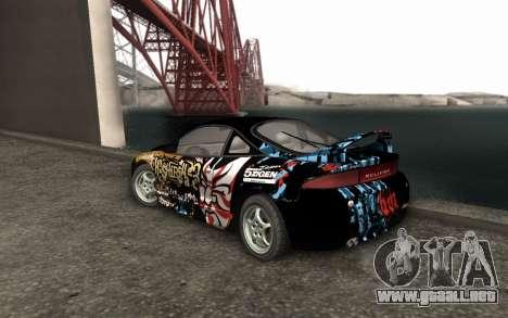 Mitsubishi Eclipse GSX NFS Prostreet para GTA San Andreas left