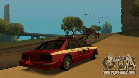 FDSA Premier Cruiser para visión interna GTA San Andreas