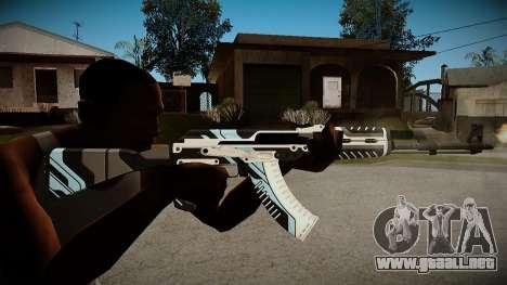 AK-47 Vulcan para GTA San Andreas segunda pantalla