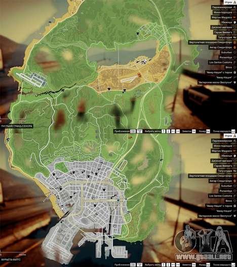 GTA 5 Mapa de Color v0.2 tercera captura de pantalla