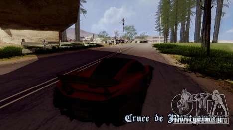ENBTI for Low PC para GTA San Andreas sucesivamente de pantalla