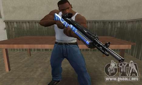 JokerMan Rifle para GTA San Andreas segunda pantalla
