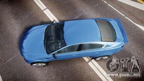 GTA V Ocelot Jackal new york plates para GTA 4 visión correcta