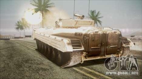 Call of Duty 4: Modern Warfare BMP-2 para GTA San Andreas left