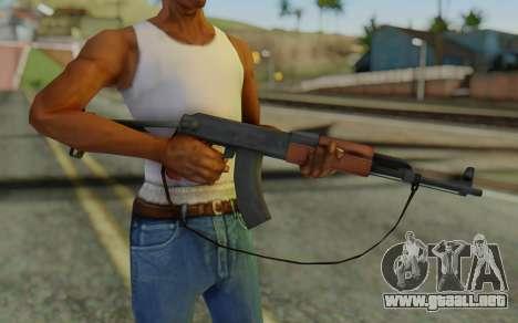 AK-47S with Strap para GTA San Andreas tercera pantalla