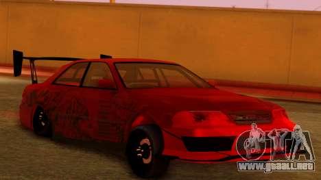 Toyota Mark 2 100 para GTA San Andreas left