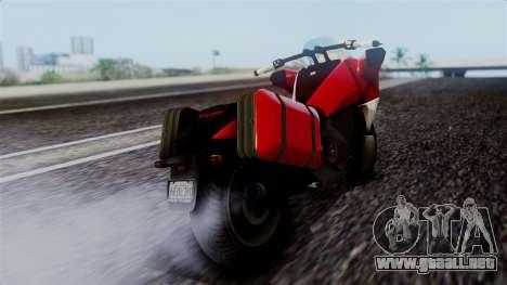 Dinka Vindicator SA Plate para GTA San Andreas left