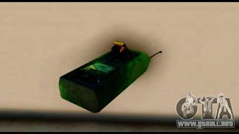 Brasileiro Bomb Detonator para GTA San Andreas segunda pantalla