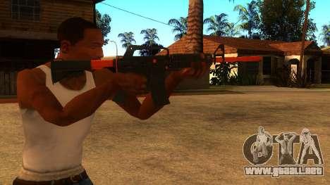 M4A1 Nitro para GTA San Andreas tercera pantalla