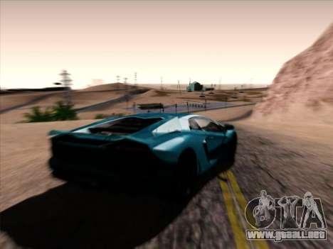 Jungles ENB v1.0 para GTA San Andreas segunda pantalla