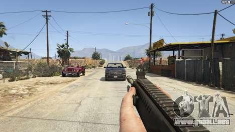 GTA 5 BF4 AR160 sexta captura de pantalla