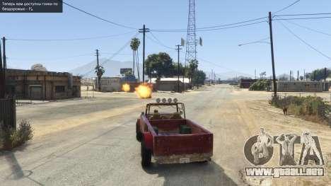 GTA 5 Vehicle Weapons .NET 0.1 quinta captura de pantalla