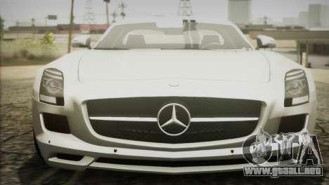 Mercedes-Benz SLS AMG 2013 para la visión correcta GTA San Andreas