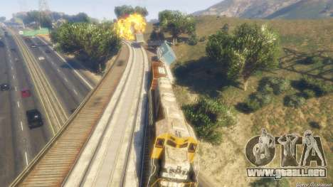 GTA 5 Railroad Engineer 3 octavo captura de pantalla