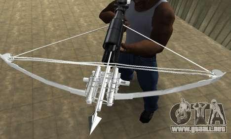 Crossbow para GTA San Andreas tercera pantalla