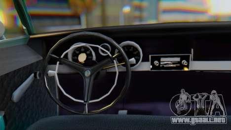 Dodge Dart Coupe para visión interna GTA San Andreas