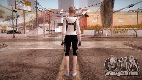 Endurance Cassie Cage from Mortal Kombat X para GTA San Andreas tercera pantalla