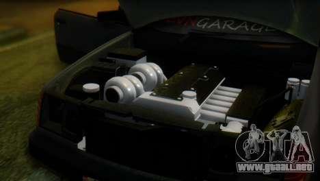 Mercedes-Benz W124 para GTA San Andreas vista hacia atrás