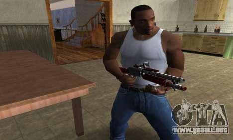 Death Shotgun para GTA San Andreas segunda pantalla