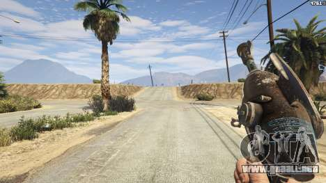 GTA 5 Fallout 3: Alien Blaster tercera captura de pantalla
