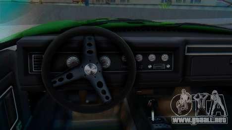 Invetero Coquette BlackFin v2 GTA 5 Plate para la visión correcta GTA San Andreas