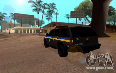 Chevrolet Blazer Berkut para GTA San Andreas left