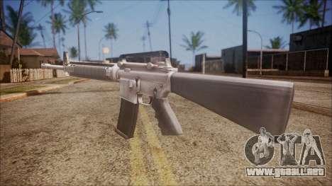 M16A3 from Battlefield Hardline para GTA San Andreas segunda pantalla