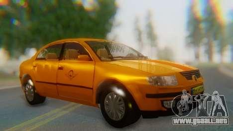 Samand Taxi para GTA San Andreas